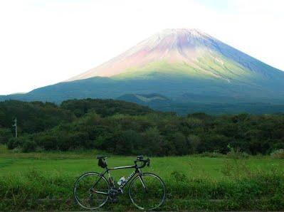 丸久食堂からの富士山